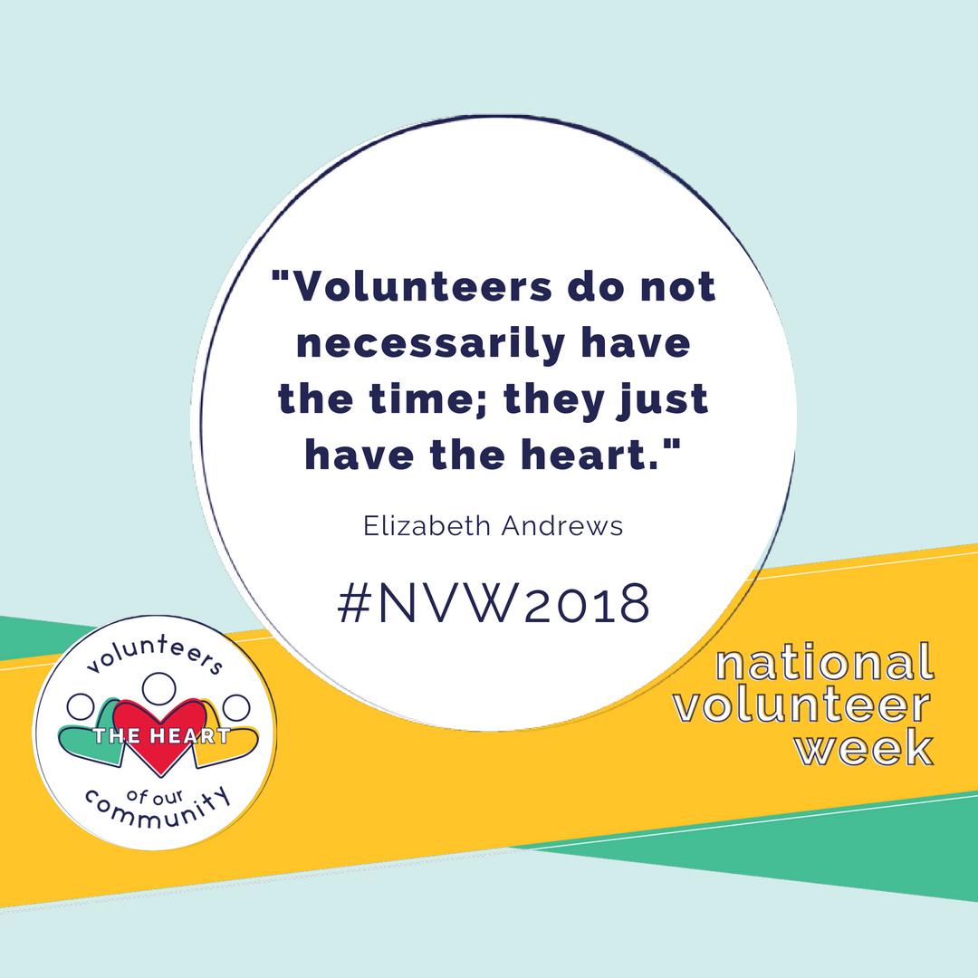 Resources National Volunteer Week
